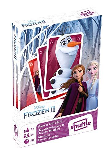 Frozen World Map II - Juegos de Cartas 2 en 1 (Pares y Vieja)