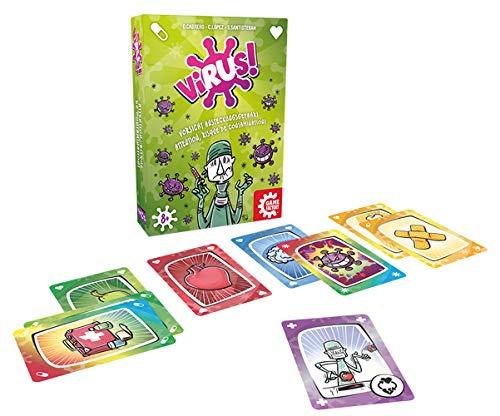GAMEFACTORY-¡Peligro de contagio, multicolor (Game Factory 646239) - Versión Alemana (idiomas: Alemán, Italiano y Francés)