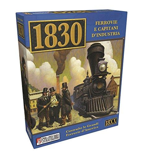 Giochi Uniti SL0058 - Juego de ferrovias y Capitanes de Industria