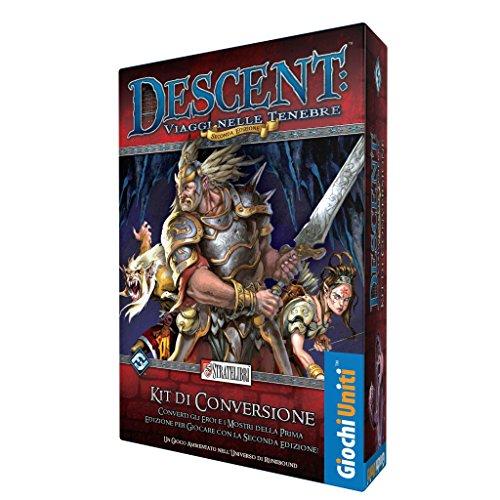 Giochi Uniti SL0172–Juegos Descent 2ª Edición Color Kit de conversión