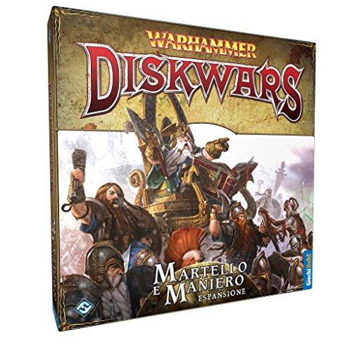 Giochi Uniti - Warhammer Diskwars Martello e Maniero (Martillo y Fortaleza)