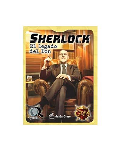 GM Games- Sherlock: El Legado del Don. Serie Q3 (GDM Games GDM2078)