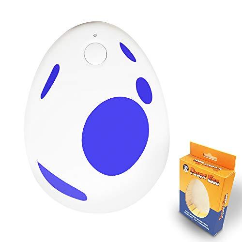 GZW-shop Pocket Egg Auto Cazar Accesorio para la aplicación Pokemon Go Plus Compatible con iOS y Android Smartphone (Azul)