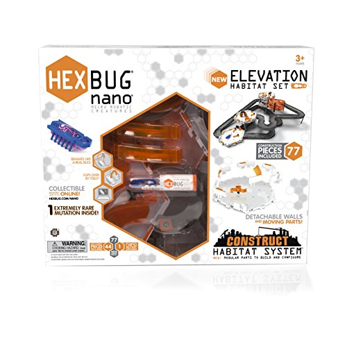 HEXBUG Nano Elevación Set Construct Hábitat (Se distribuye desde el Reino Unido)