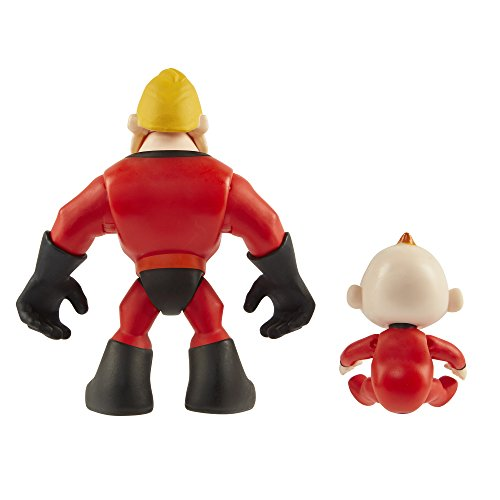 Incredibles 2 Disney 2 – 3 Pulgadas Precool 2-Pack Mr Incredible y Jack Pre Cool Figura