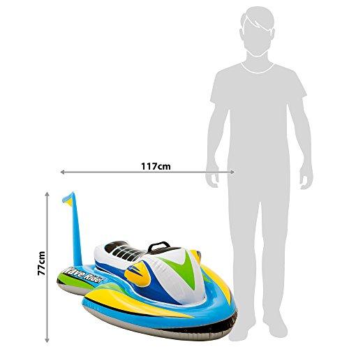 Intex 57520NP - Moto acuática hinchable para niños 117 x 77 cm