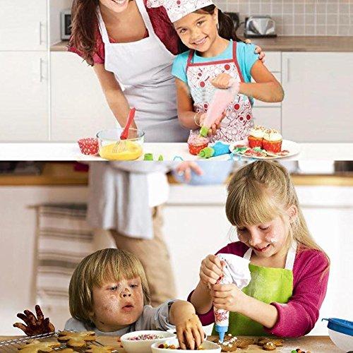 Juego de chef para niños Niños Juego de imaginación para cocinar con juegos de rol de niños pequeños Juego de roles con delantal para niñas, gorro de cocinero y otros accesorios Regalo para el día de