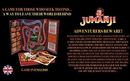 JUMANJI El Juego De Mesa | Un Juego para Los Que Buscan Encontrar... Una Manera De Dejar Su Mundo Atrás | Juego De Mesa Familiar Grande |