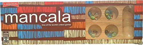 Lagoon Games Mancala Wooden Board Game by Lagoon