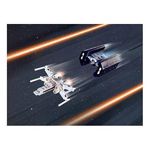 LEGO 4484 Star Wars - Mini Caza Estelar ala-X y Caza Tie Avanzado