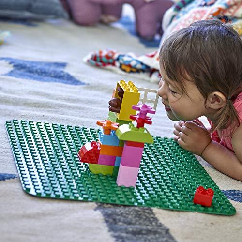 LEGO DUPLO - My First Plancha, Base Grande de Juguete para niños de Preescolar, color Verde (2304)