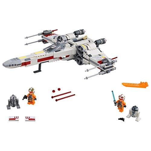 LEGO Star Wars - Caza Estelar Ala X, Juguete de La Guerra de las Galaxias de la Nave X Wing para Construir y Jugar, Incluye Minifiguras de Luke Skywalker, R2-D2 y R2-Q2 (75218)