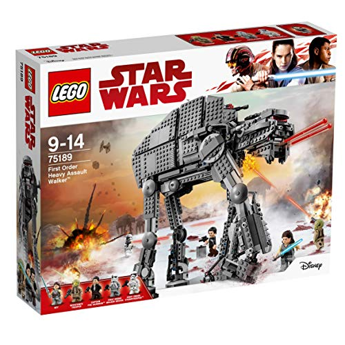 LEGO Star Wars - First Order Heavy Assault Walker, Juguete de Construcción Basado en La Guerra de las Galaxias (75189)