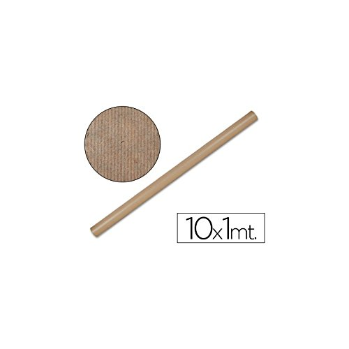 Liderpapel Papel Kraft  Marron -Rollo 10X1 Mt