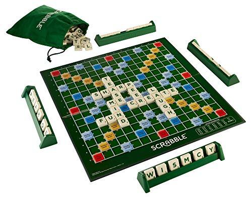 Mattel Scrabble - Juego de mesa (en inglés) , color/modelo surtido