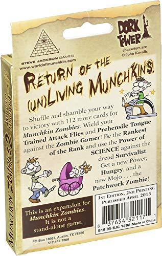 Munchkin Zombies 2 - Armed & Dangerous - Videojuego para niños (Steve Jackson Games) (versión en inglés)