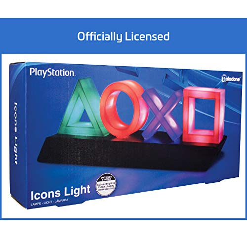 "Paladone PP4140PS,  Lámpara ""PlayStation"", Multicolor"