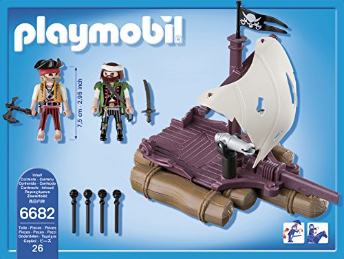 PLAYMOBIL - Balsa Pirata (66820)