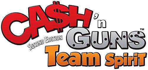Repos Production- Cash' N Guns: Team Spirit - Español, Color (ASMODEE CAS04ML)