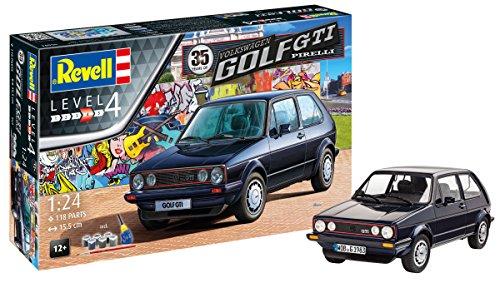 Revell 0569412Maqueta de 35Years Volkswagen Golf GTI Tapicería en Escala 1: 24, Niveles 4