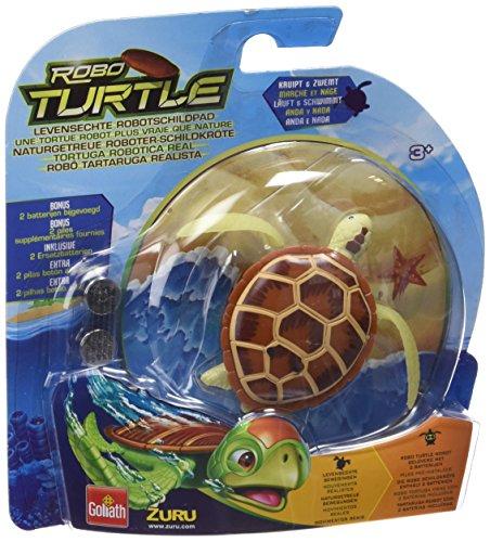 Robo Turtle  - Tortuga robótica real, para 1 o más jugadores (Goliath 32840) (versión en español)