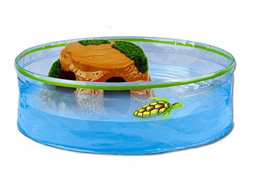Robofish - Robo Tortugas, acuario con isla (Goliath 32828) , color/modelo surtido