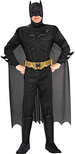Rubie's 880671, Disfraz de Batman para hombre, Negro, L