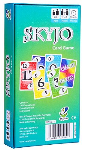 SKYJO de Magilano- El juego de cartas definitivo para niños y adultos.