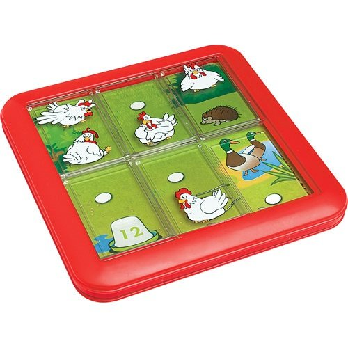 Smart Games Chicken Shuffle - Escondite en la granja, juego de ingenio (SG430)