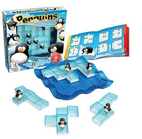 Smart - Pingüinos sobre hielo, juego de ingenio con retos (51520)