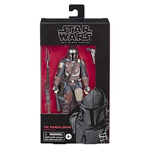 Star Wars - Figura de acción coleccionable de The Mandalorian de Black Series (Hasbro E6959EL2)