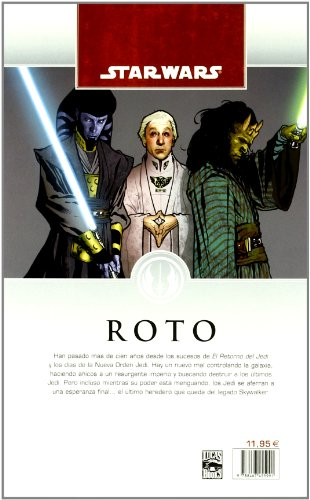 Star Wars Legado nº 01/15: Roto (Star Wars: Cómics Leyendas)