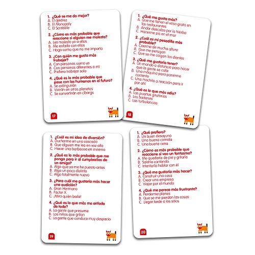 SUSSED DE TODO UN POCO (Divertidísimo y familiar juego de conversación de cartas) (Descubre quién conoce mejor a quién)