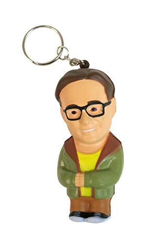 The Big Bang Theory - Leonard, llavero antiestrés mosquetón, 8 cm (SD Toys SDTWRN89453)
