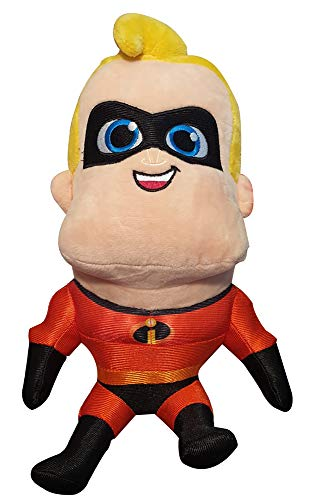 The Incredibles 2 30cm Figuras de felpa, Elastigirl, Mr. Incredible, Flash, Violet o Baby Jack-Jack para jugar, Coleccionar y abrazar, Peluches, Peluches para niños (Mr. Incredible)