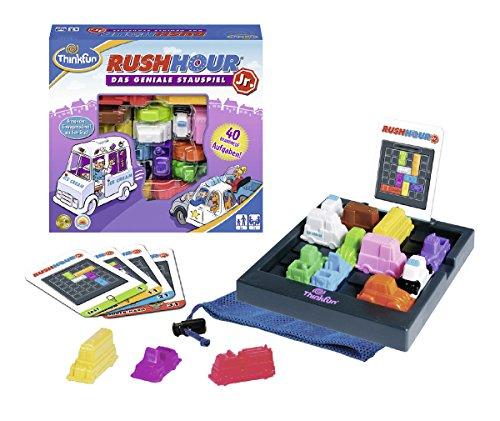 ThinkFun 76303 Rush Hour® Junior - Juego de lógica para Jugadores jóvenes