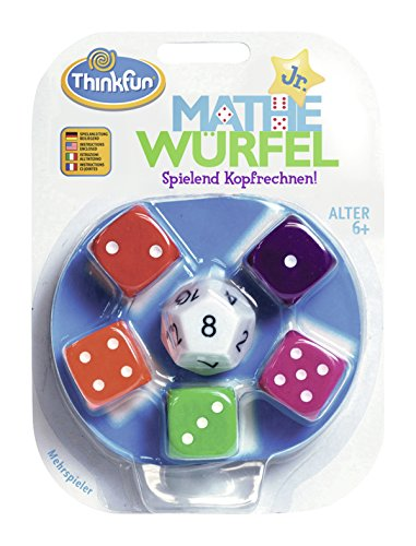 ThinkFun 76316 - Cubo de Mathe Junior