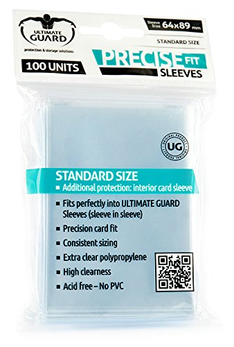 Ultimate Guard 10050 Fundas, 64 x 89 mm 10050