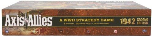 Wizards of the Coast 39688 Axis & Allies 1942 - Juego de Mesa sobre Guerra Entre Eje y Aliados (2.ª edición, en inglés)