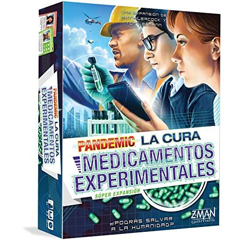 Z-man Games España- Pademic La Cura: Medicamentos Experimentales, Color (ZM7151ES)