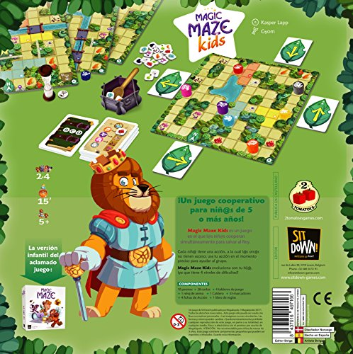 2 Tomatoes Games Magic Maze Kids, Multicolor (8437016497210-0)