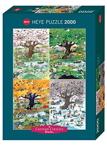 4 Seasons Puzzle: 2000 Teile