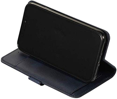 [5 Ranuras Tarjetas]Compatible con HuaWei Mate 20 Pro Funda Magnetica Flip PU Cuero,Compatible con HuaWei Mate 20 Pro PU Piel Zipper Wallet Multifuncional Billetera Funda Antigolpe Case,Azul