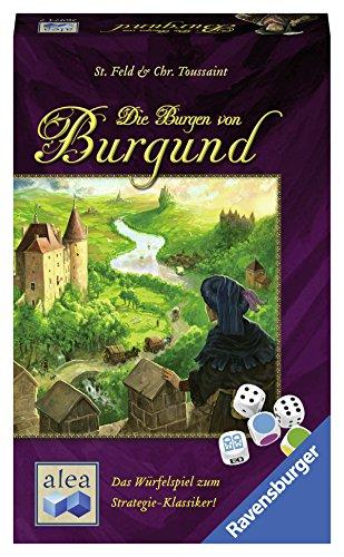 Alea-Juego de dados Die Burgen von Burgund. (Ravensburger Spieleverlag 26974) , color/modelo surtido