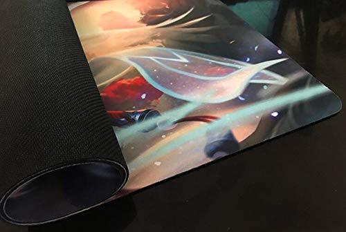 Anguished Unmaking - Juego de mesa MTG Playmat juego de mesa tamaño 60 x 35 cm bloqueo borde alfombrilla de ratón para Yugioh Pokemon Magic The Gathering