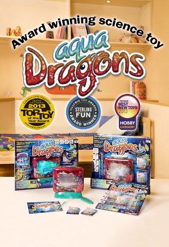 Aqua Dragons - Dragón de agua- Mundo Submarino Juguete Educativo, (World Alive W4004)