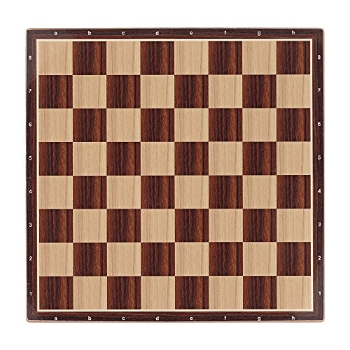 Aquamarine Games - Tablero de ajedrez de 40 x 40 cm (CP029)