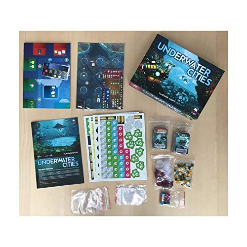 Arrakis Games - Juego de tablero Underwater Cities, Multicolor