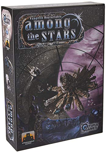 Artipia Games Among The Stars Boardgame Board Game