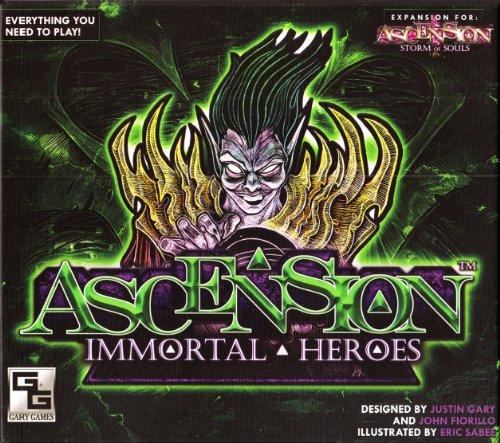 Ascension: Immortal Heroes - Set de Inicio de Cartas Héroes (Gary Games Inc GGS004) [Importado de Inglaterra]